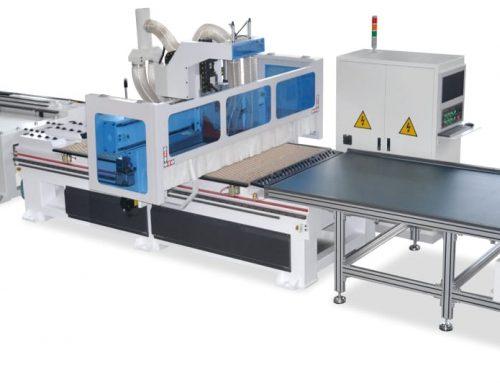 Máquina CNC para corte de MDF tipo Nesting